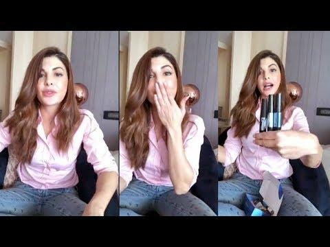 Jacqueline Fernandez LIVE Video Unboxing Her Signature Makeup Line 2.0 for The Body Shop thumbnail