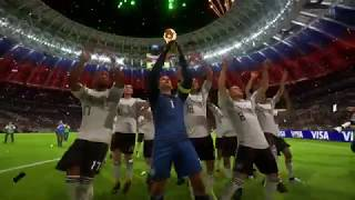 FIFA 18 winning the world cup