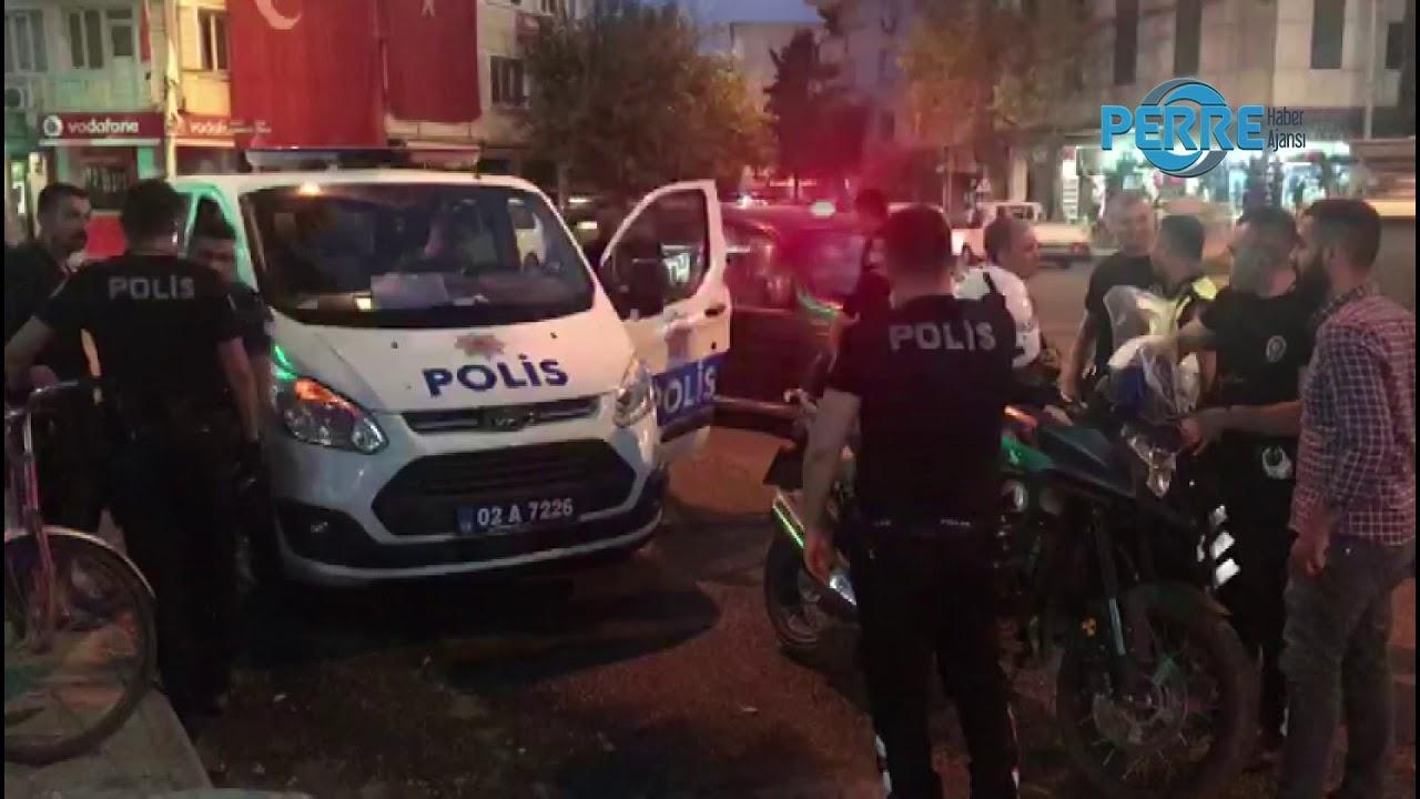 Adıyaman Kavga 1 Yaralı 4 Kişi Gözaltına Alındı