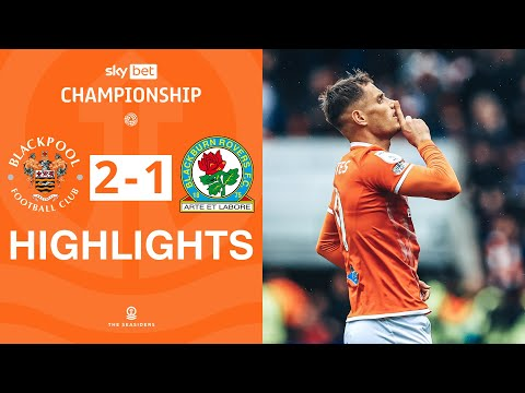 Blackpool Blackburn Goals And Highlights