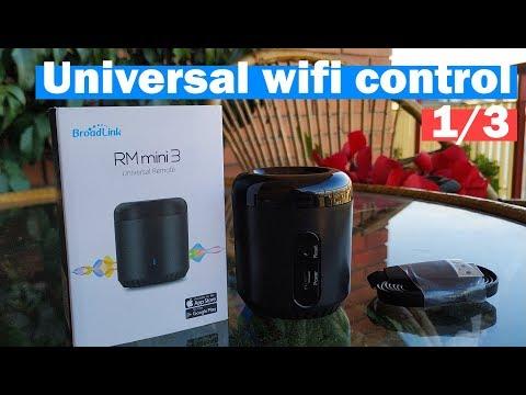 📱Broadlink RM Mini 3 Wifi Setup And Review (1/3) 📱