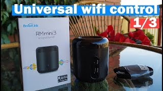 Broadlink RM mini 3 wifi setup and review (1/3)