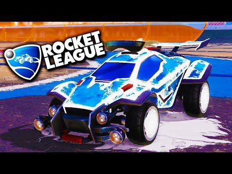 BUSTING A FAT NUT! - Rocket League with The Crew!