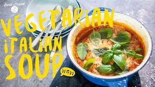 Guy's INCREDIBLY EASY Vegetarian Italian Soup