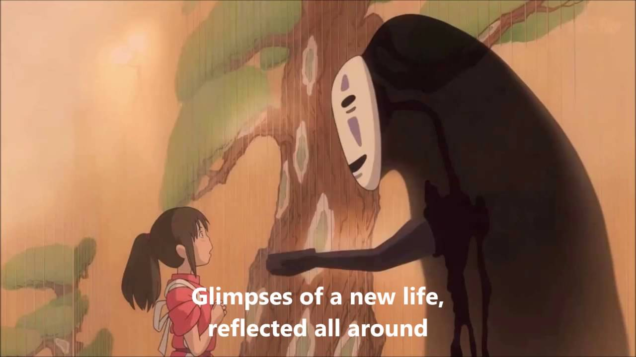 Spirited Away Always With Me Official Lyrics Eng Sub Youtube