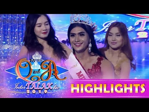 It's Showtime Miss Q & A: Asia Sophia Montenegro Is The New Miss Q And A InterTALAKtic 2019 Queen
