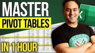 Pivot Table Excel Tutorial 2010, 2013 & 2016: Pivot Tables, Slicers, Charts & Dashboards