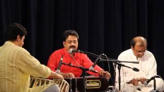 Sri  Raichur Sheshagiri Das music  concert at Shri Krishna Vrundavana, Edison, NJ