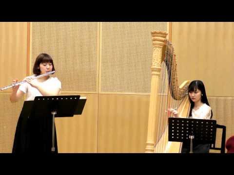 歌の翼/フルート&ハープ アンサンブル