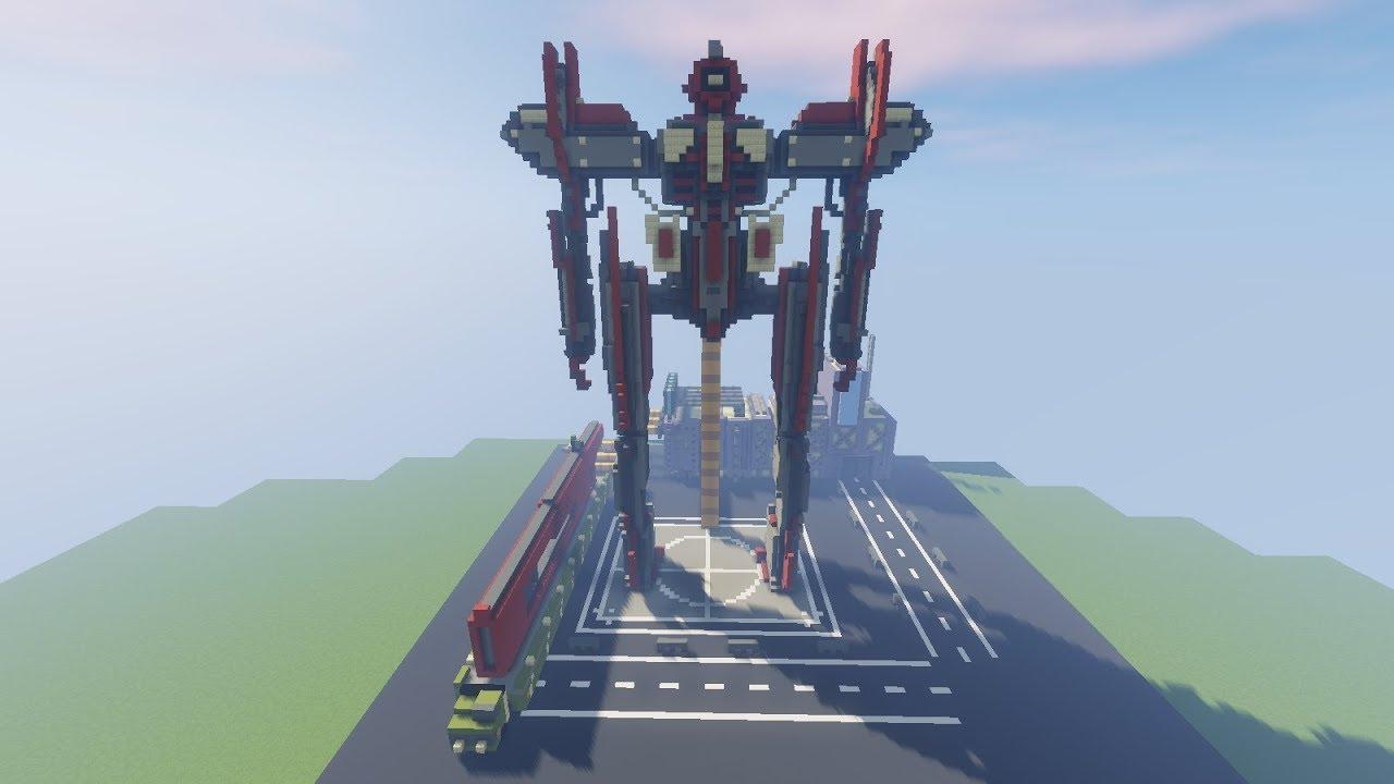 робот в майнкрафте постройка работы лебедок