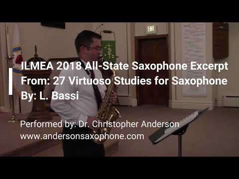 2018 ILMEA Senior High All State Fast Etude