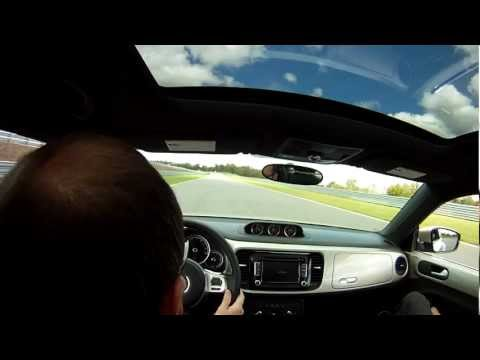 2013 VW Beetle TDI, Track Test