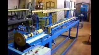 видео Открываем производство сетки рабицы