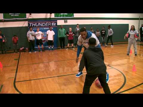 Thunder Video: Fit Clinic at Kerr Middle School