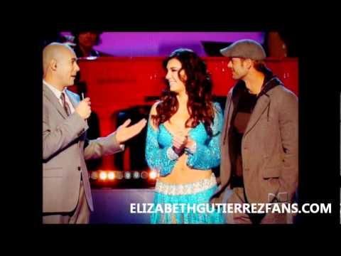 Elizabeth Gutierrez en la 10ma Gala de MQB parte1 Nov-13-11
