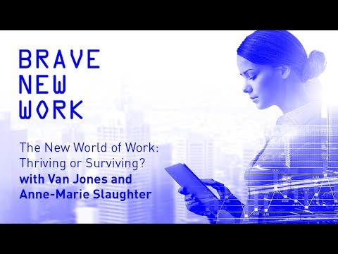 Live: The New World of Work: Thriving or Surviving?