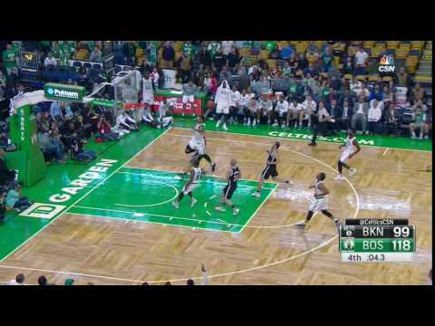 Jordan Mickey Puts the Exclamation Point on a Celtics Win