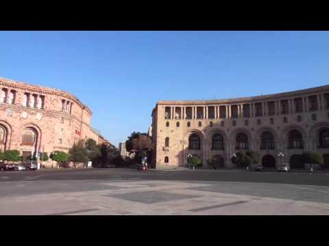 Площадь Республики в Ереване (Армения) / Republic Square In Yerevan (Armenia)