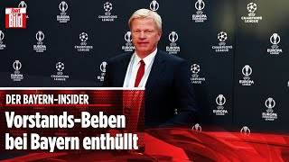 Vorstands-Beben bei Bayern enthüllt | Bayern-Insider