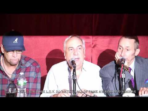 The 2016 N. Y. L.O.V. DJ/Artists Hall of Fame Seminars. 4th Panel