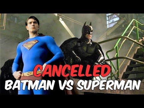 The Cancelled 2004 Batman Vs Superman Movie  Cutshort