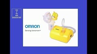 Omron Compressor Nebulizer NE - C801KD UNBOXING (Comp AIR C801 NK for kids, NE-C801S - KDE (V))