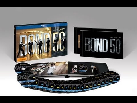 Bond 50 Blu-Ray Collection Unboxing