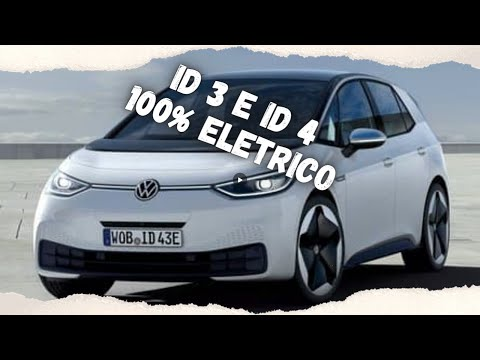 NOVO ID 3 e ID 4 Volkswagen 100% Elétrico Começa a Ser Vendido No Brasil.............olhocerto