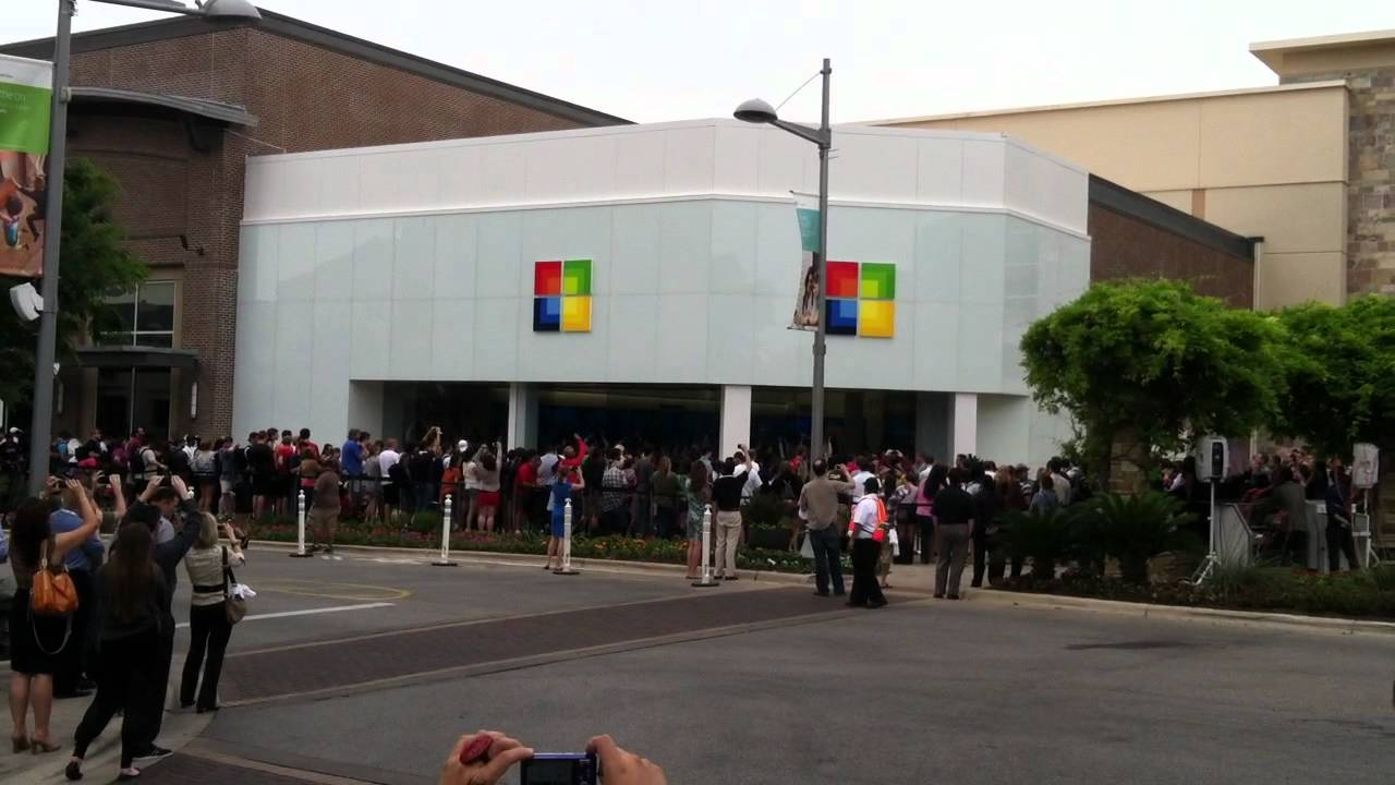 microsoft store the domain austin youtube