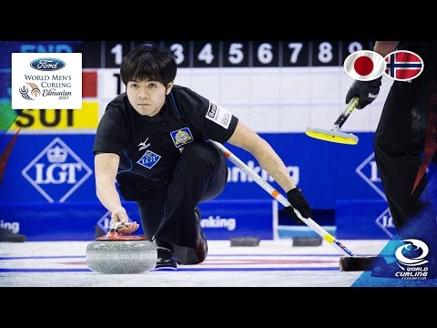 Japan v Norway - Round-robin - Ford World Men's Curling Cham