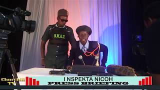 Inspector Nico - Press Briefing Session....