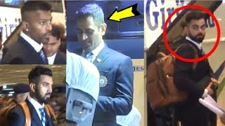 Team India EMOTIONAL Return At Mumbai Airport After EXIT From World Cup 2019 Final
