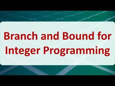 Integer programming.