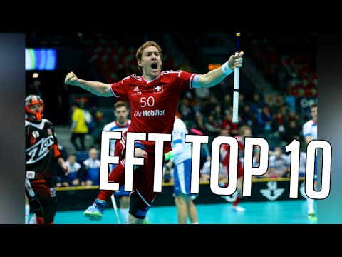 Euro Floorball Tour 2016 Lausanne Top 10 Goals