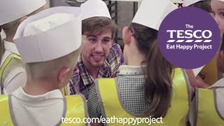 tesco eat happy project farm to fork trail sorted