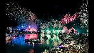 Австралия встречает новый 2020 год