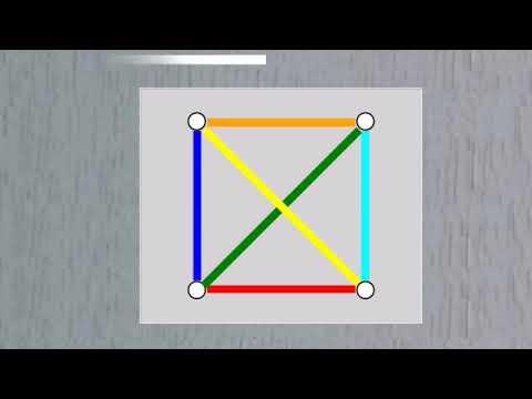 Семь прямых или настольная геометрия