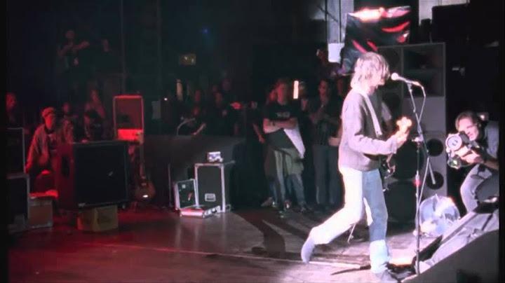 nirvana  smells like teen spirit hd live at the paramount 1991