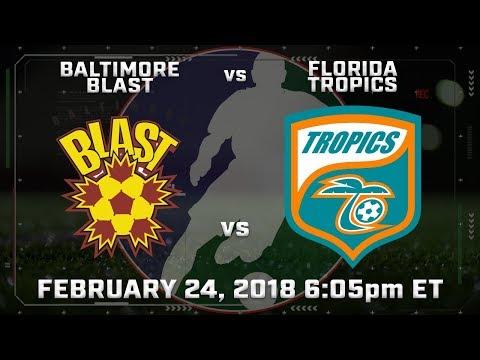 Baltimore Blast vs Florida Tropics