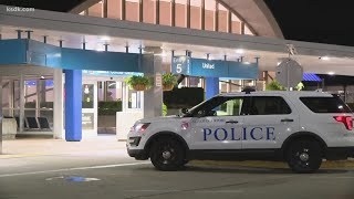 Suspect on the loose after man stabbed at St. Louis Lambert International Airport