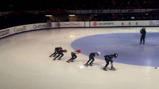 20180318 ISU Short Track Championship Women's 1000m QF Heat 3 - CHOI Min Jeong
