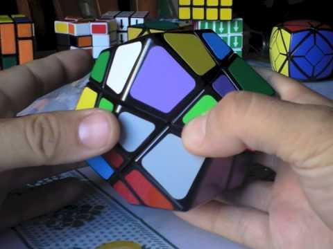 Como resolver Dodecaedro romboide Skewb - Skewb Rhombic Dodecahedron Rubik Tutorial Solución
