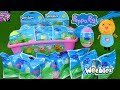 LOTS of Surprise World of Peppa Pig Blind Bag Toys Figures Clip Plush Easter Eggs Girl Toy Video