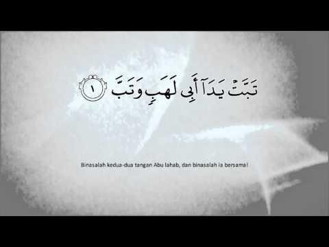 Al-Quran - Terjemahan Dalam Bahasa Melayu - Surah Al-Masad