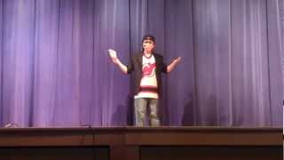 10 Year Old Comedian