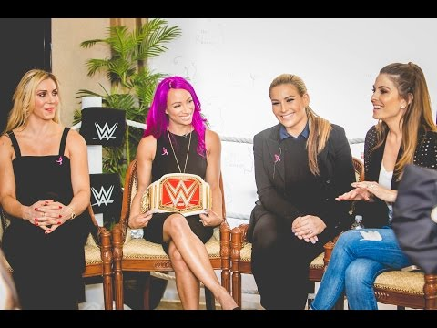 The Girls' Lounge @ ANA 2016: See Her Strength with the Women of WWE