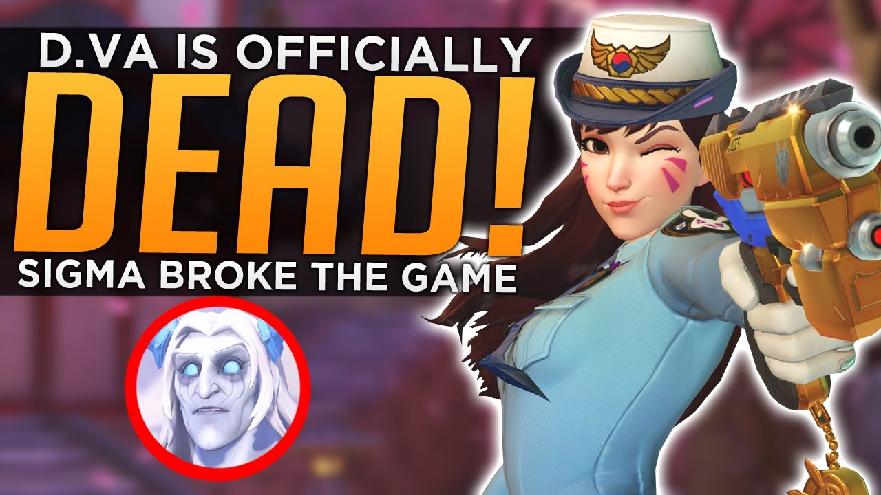 D.Va is Officially DEAD! - How Sigma Fundamentally Broke Overwatch thumbnail