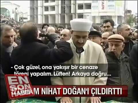 Azer Bülbül'ün cenazesinde Nihat...
