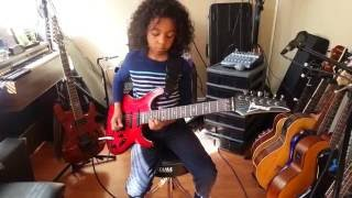 Prince - Purple Rain (Tribute by 7-year-old Marel Hidalgo)