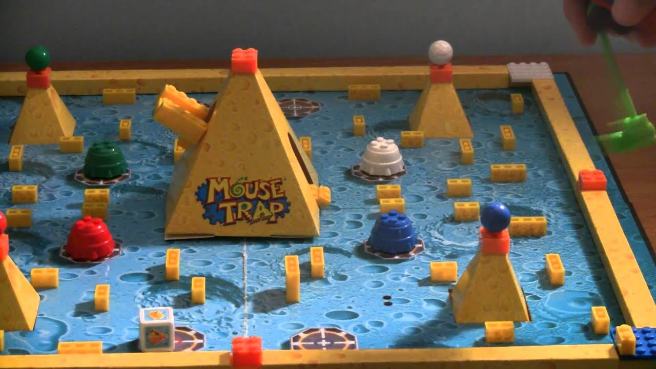 ZooLert U Build Mouse Trap Game review YouTube